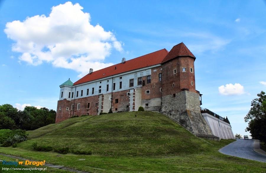 zamek w Sandomierzu nad Wisłą