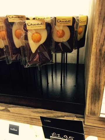 Hotel Chocolat egg on toast