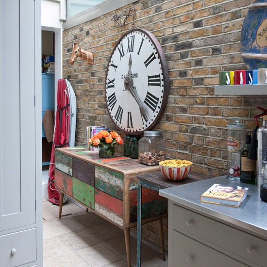 modern country style and sultry in the kitchen plus