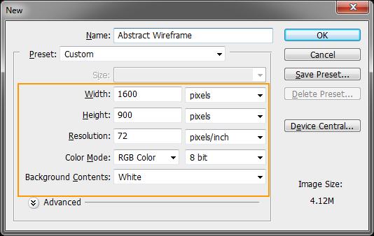 เทคนิคการทำ Effect ตัวอักษรแบบ Abstract Wireframe Absw01