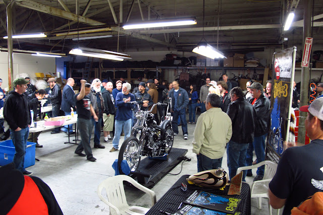 Born-Free Motorcycle Show: Knucklehead Debut Party was a hit!