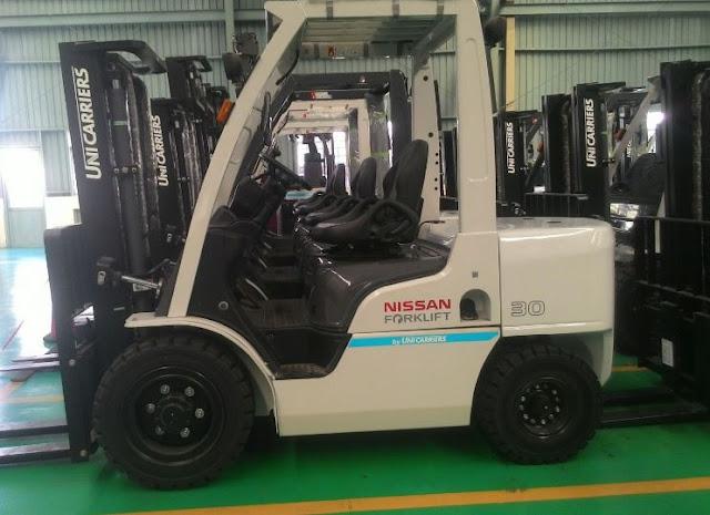 Nissan diesel forklift 3 tons