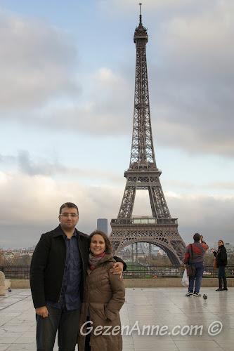 Paris Eiffel Kulesi'nde