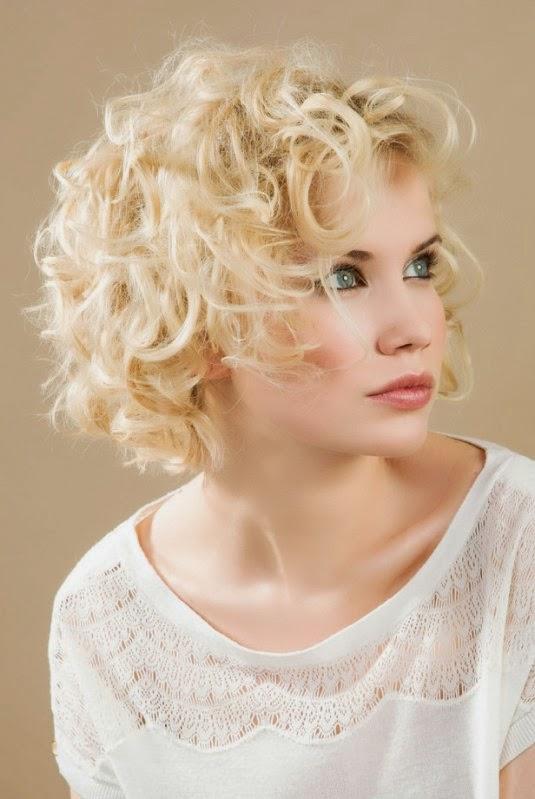 peinados con pelo corto y rizado with peinados con pelo corto y rizado