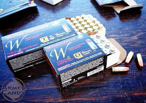 W train and defend ammo by Winchester introduced at SHOTShow 2014