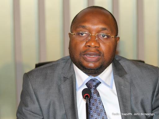 Le ministre de la Santé publique, Félix Kabange Numbi le 22/04/2013 à Kinshasa, lors du lancement de la semaine Africaine de la vaccination. Radio Okapi/Ph. John Bompengo