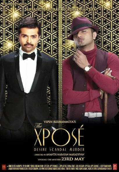 Poster Of Hindi Movie The Xpose (2014) Free Download Full New Hindi Movie Watch Online At Alldownloads4u.Com