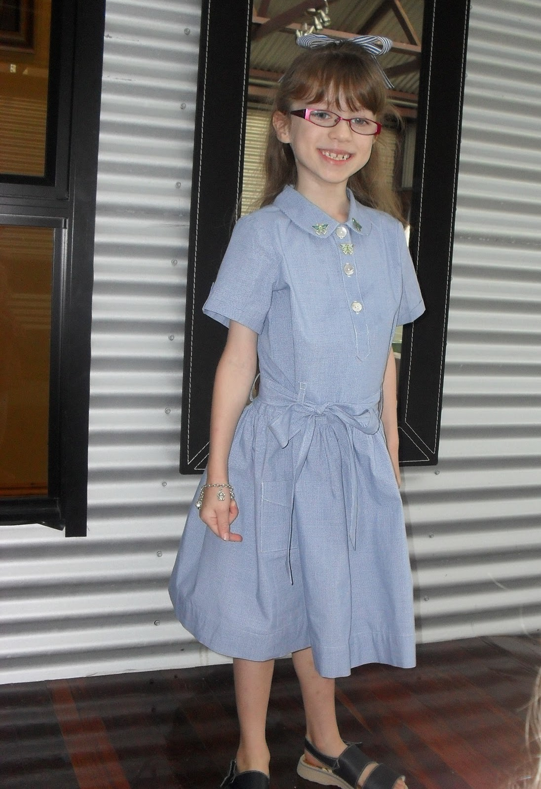 Five and Counting....: School Uniforms-Revisited!