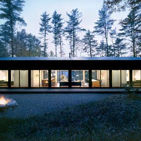 incorporated architecture design benroth rolston stuart Sixteen Doors House