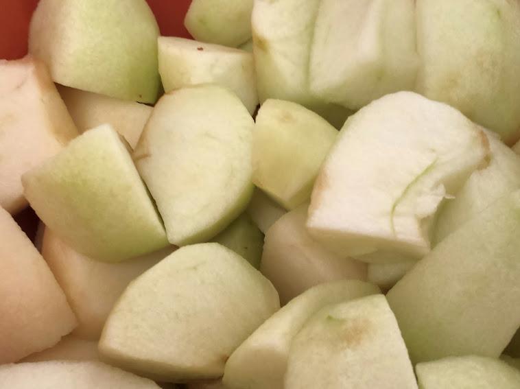 แอปเปิ้ลกวน ขนาดทดลองทำจ้า