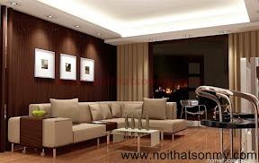 Mẫu thiết kế nội thất phòng khách 330