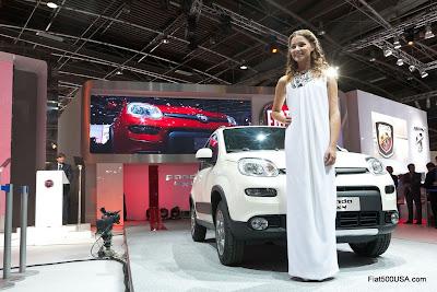 Fiat Panda 4x4 and Miss Italia