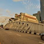 Most Anderson wykorzystywany w trakcie Grand Prix Formuły 1.