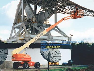 JLG Telescopic Boom Lift 660SJ