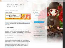 "Anime Pitaten Weak-Up ""Plantilla de Anime para Blogger"""