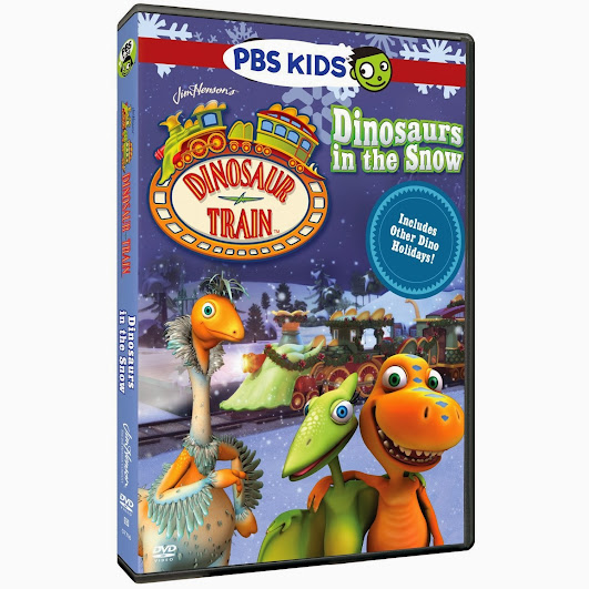 PBS KIDS Holiday DVD Dinosaur Train: Dinosaurs in the Snow