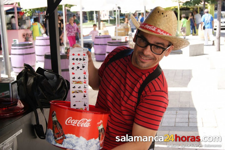 Mago Madrid Marketing Promocional Coca-Cola