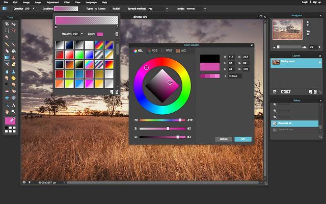 Photoshop alternatives Pixlr