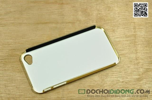 Ốp lưng  Iphone 4 4S  nhôm xướt thương hiệu
