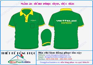 Đồng phục công ty Viettel
