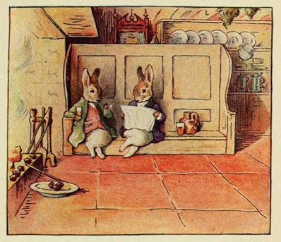 Beatrix Potter: Cecily Parsley's Nursery Rhymes, 1922