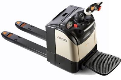 Xe nâng con cóc - power pallet mover 0937782768