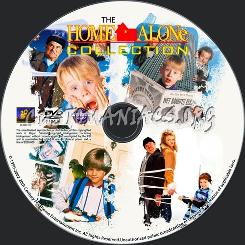 Multi Movies Home Alone Complete Collection 1 5