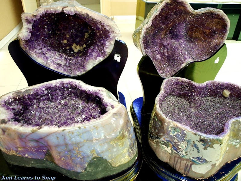Amethyst Geode picture any object  photo