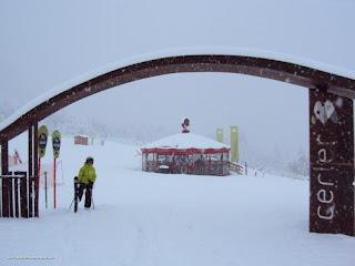 DSC01406 - Nevando el sábado, paraiso el domingo.
