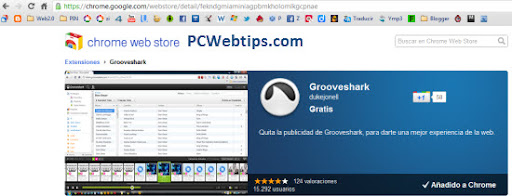 Grooveshark-google-chrome