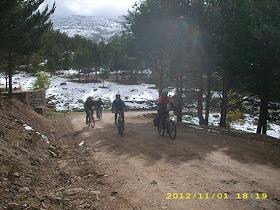 Así fue nuestra Ruta del puerto de Cotos a Colmenar Viejo. Noviembre 2012