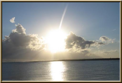 lever de soleil Ouistreham