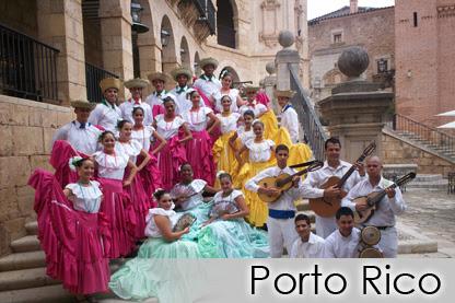 PORTO RICO - Agrupación Folklórica ELMYRBA