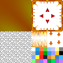 Orange Fire Windowskin | RMVX/VXA