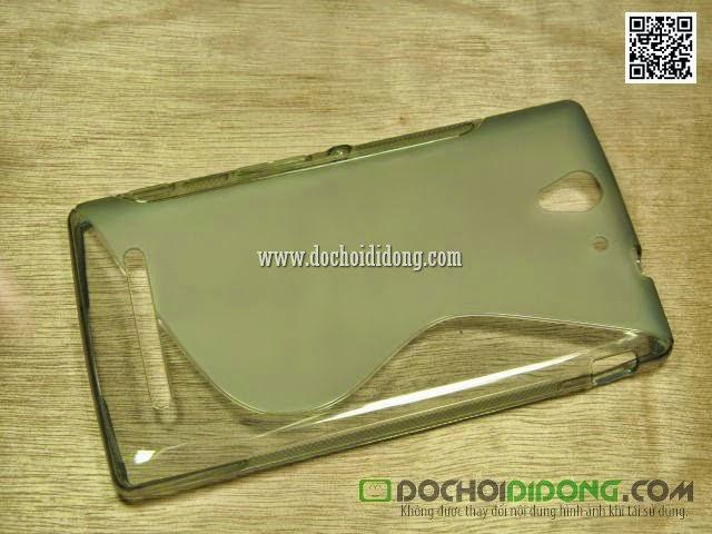 Ốp lưng Sony Xperia C3 Dual dẻo trong chữ S