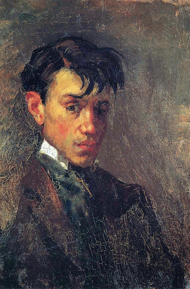 Pablo Picasso - Self-Portrait-1896