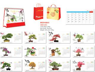 Diễn đàn rao vặt: Đơn vị chuyên sản xuất In lịch bàn - in lịch để bàn - in lịch bàn 2019 - in lịch  VNNC-LB01