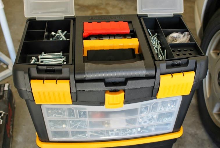 Keter MasterCart Rolling Tool Box
