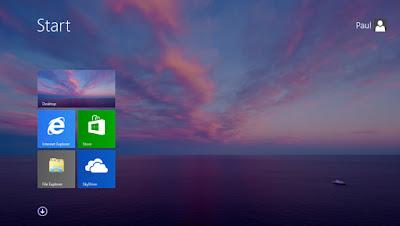 Windows 8.1 Imagen de fondo en la pantalla de inicio