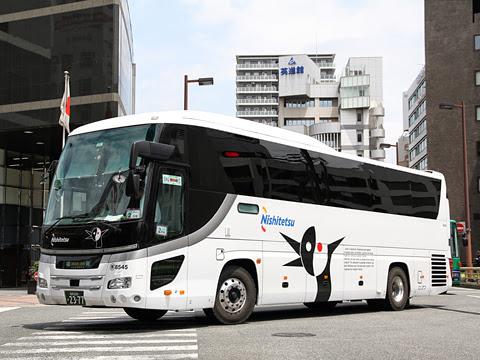 西日本鉄道「はかた号」8545