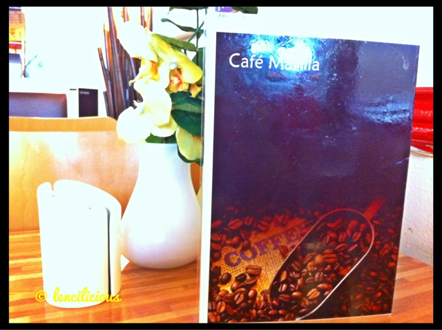 It Felt Like Home At Cafe Manila