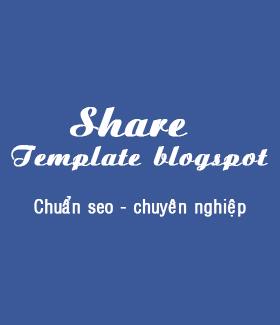 Template blogspot cá nhân đẹp