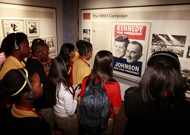The Campaign exhibit, Sixth Floor Museum. From Who Killed JFK?
