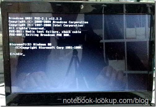 วิธีล้าง BIOS Password ในโน้ตบุ๊ค Acer - โหลดโปรแกรมฟรี