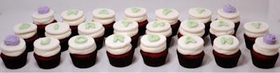 Happy Birthday Jordan Cupcakes