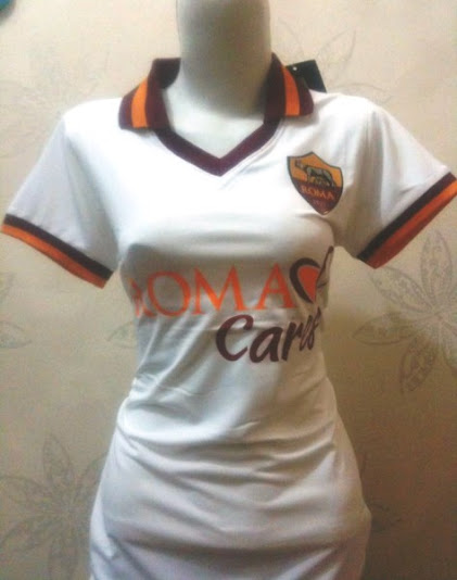 Jual Jersey Wanita AS Roma Away 2014