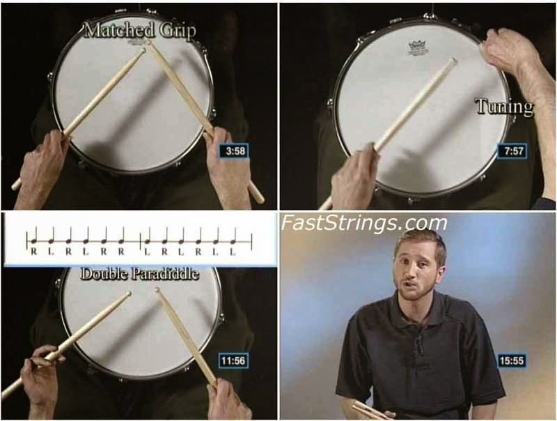 Tim Wimer - Snare Drum Rudiments
