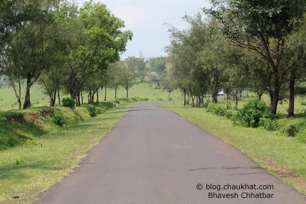Beautiful road to Kas plateau