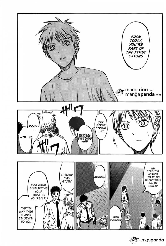 Kuroko no Basket Manga Chapter 207 - Image 09