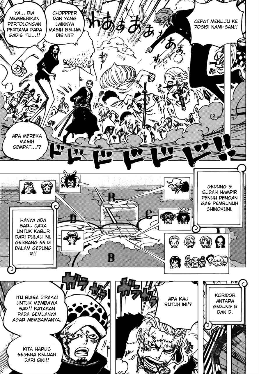 one piece Online 692 manga page 10